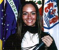 Renata Gomes, ex-aluna de Engenharia Eletrônica da Unisanta