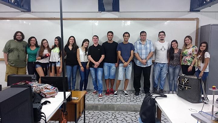 Quarta turma do curso básico de Eletrônica da Unisanta