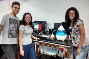 Matheus Teixeira, Mariana Cristina e Thanmyris Teixeira