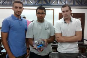 Breno Tavares, Matheus Souza e Giulio Amici Garcia