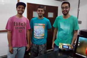 Diego Barbosa, Adriano Gil e Charles Ventura