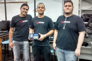 Rafael dos Santos Almeida, Jhonatan Maciel Belarmino e Pedro Henrique Almeida Merlin
