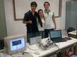 Integrantes do projeto Harpa Laser