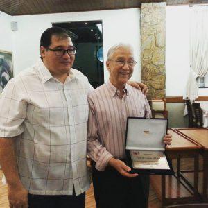 Homenagem ao professor Djalmir Correa Mendes