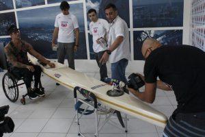 Caiaque para paracanoagem olímpica: projeto de Engenharia da Unisanta