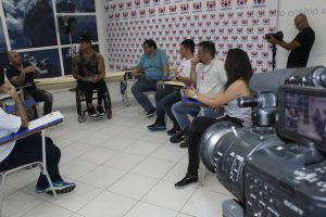 Reunião de desenvolvimento: Caiaque para paracanoagem olímpica Unisanta